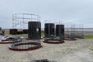 施工実績/北海道太平洋中部地区大樹漁礁設置工事