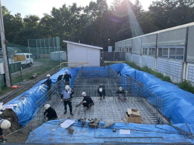 施工実績/下音更小学校屋外トイレ改築工事